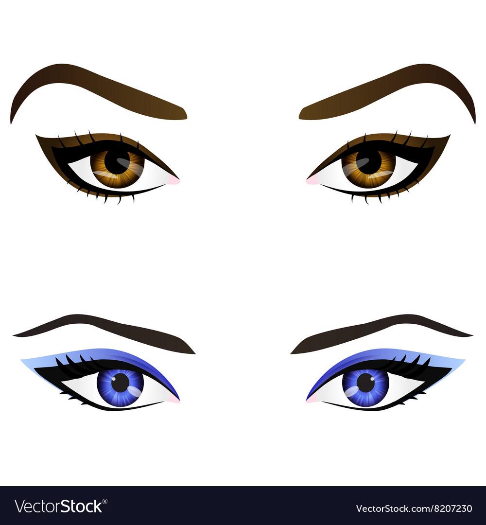 Realistic Cartoon Eyes Girl - Novocom.top