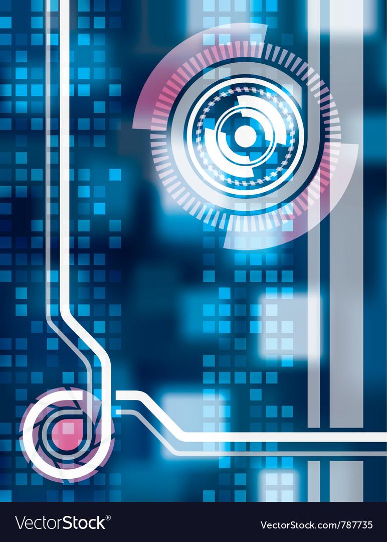 Blue Tech Wallpaper : wallpaper, Wallpaper
