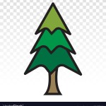 Redwood Tree Silhouette Vector Images 24