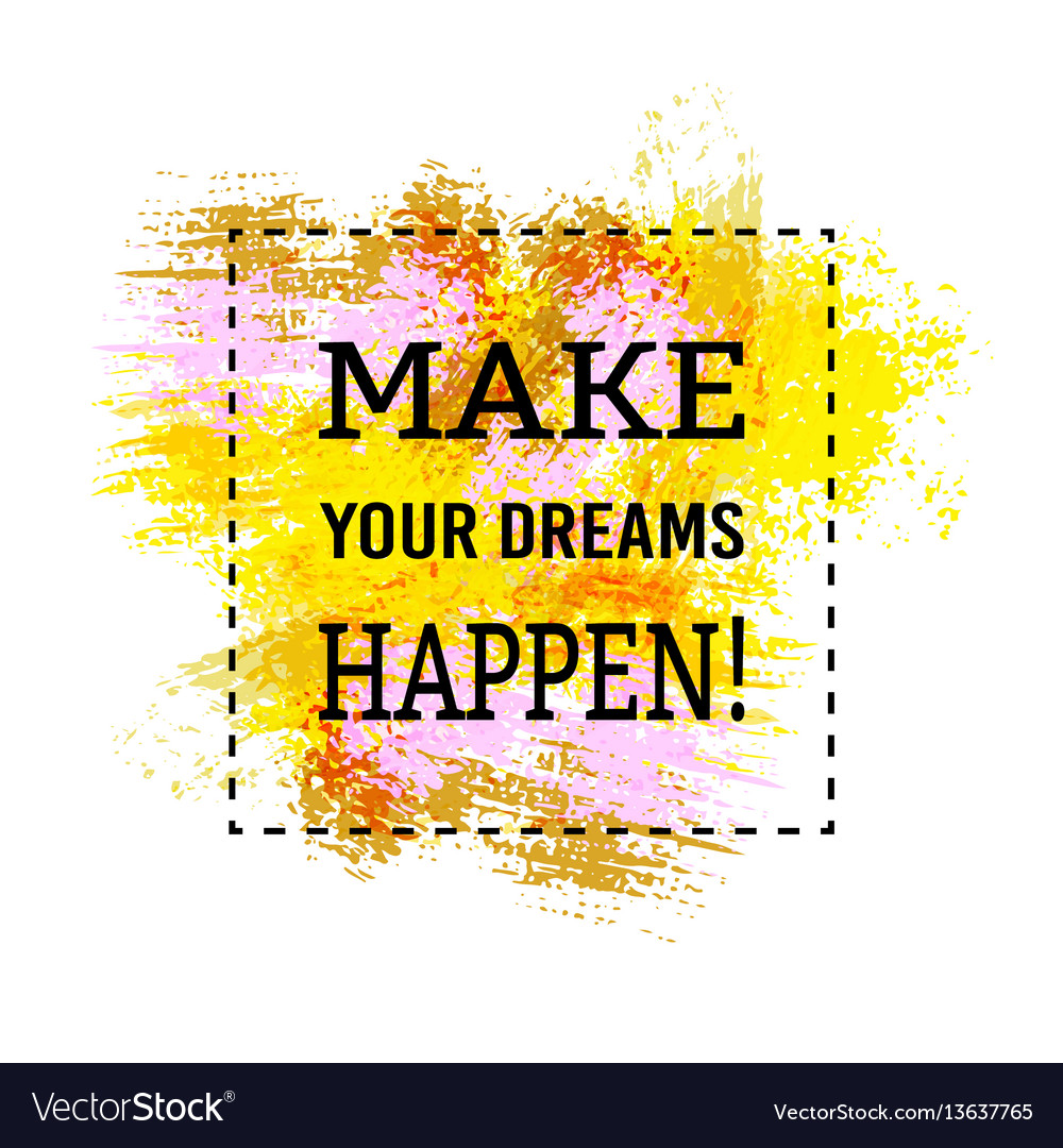 motivation poster make your