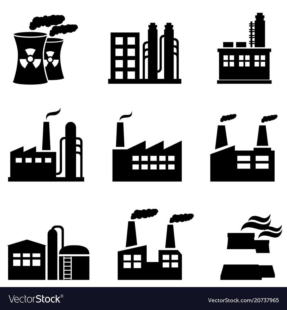 industrial buildings power plants