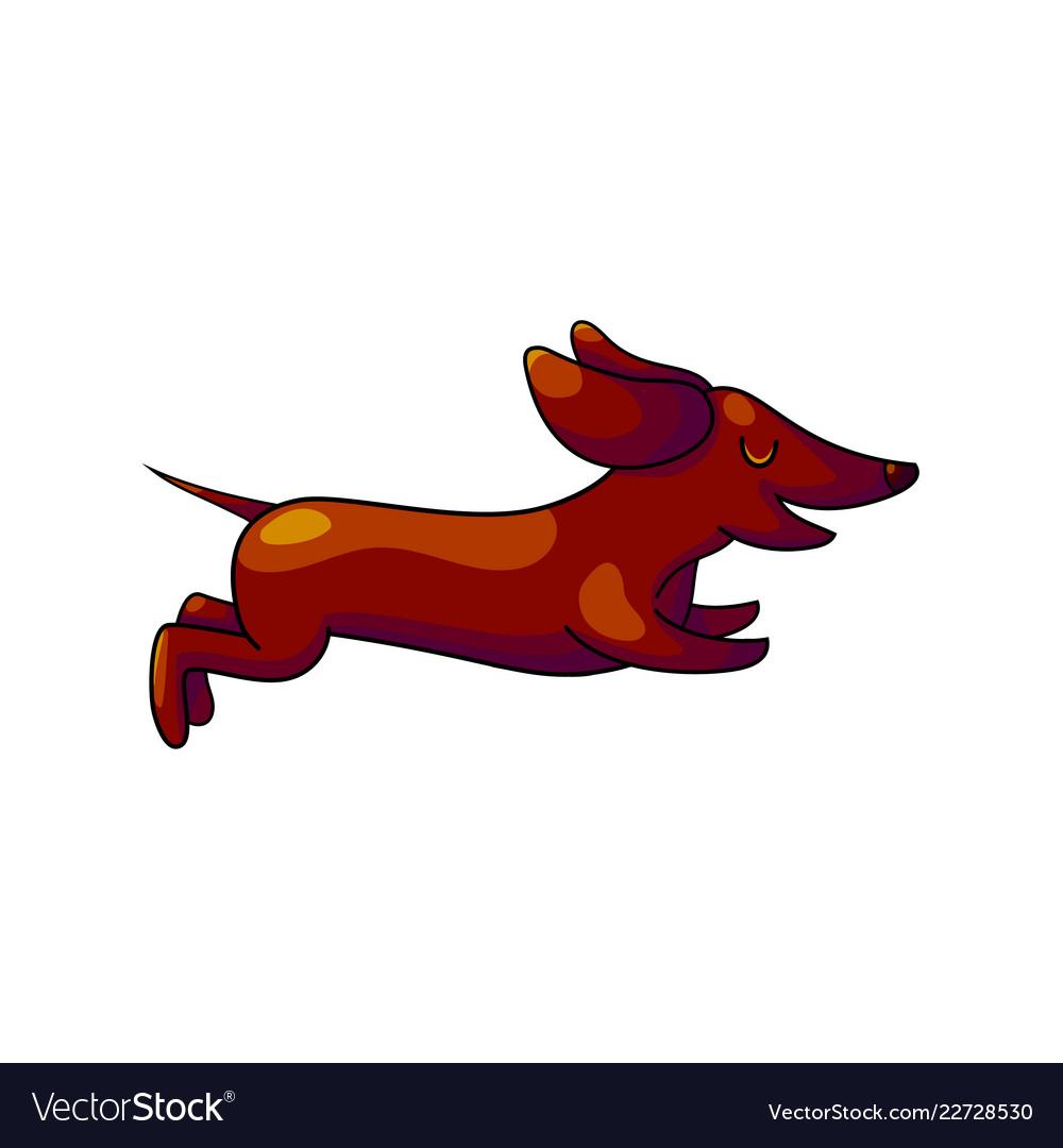 hight resolution of weiner dog clipart