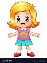 blonde hair cartoon