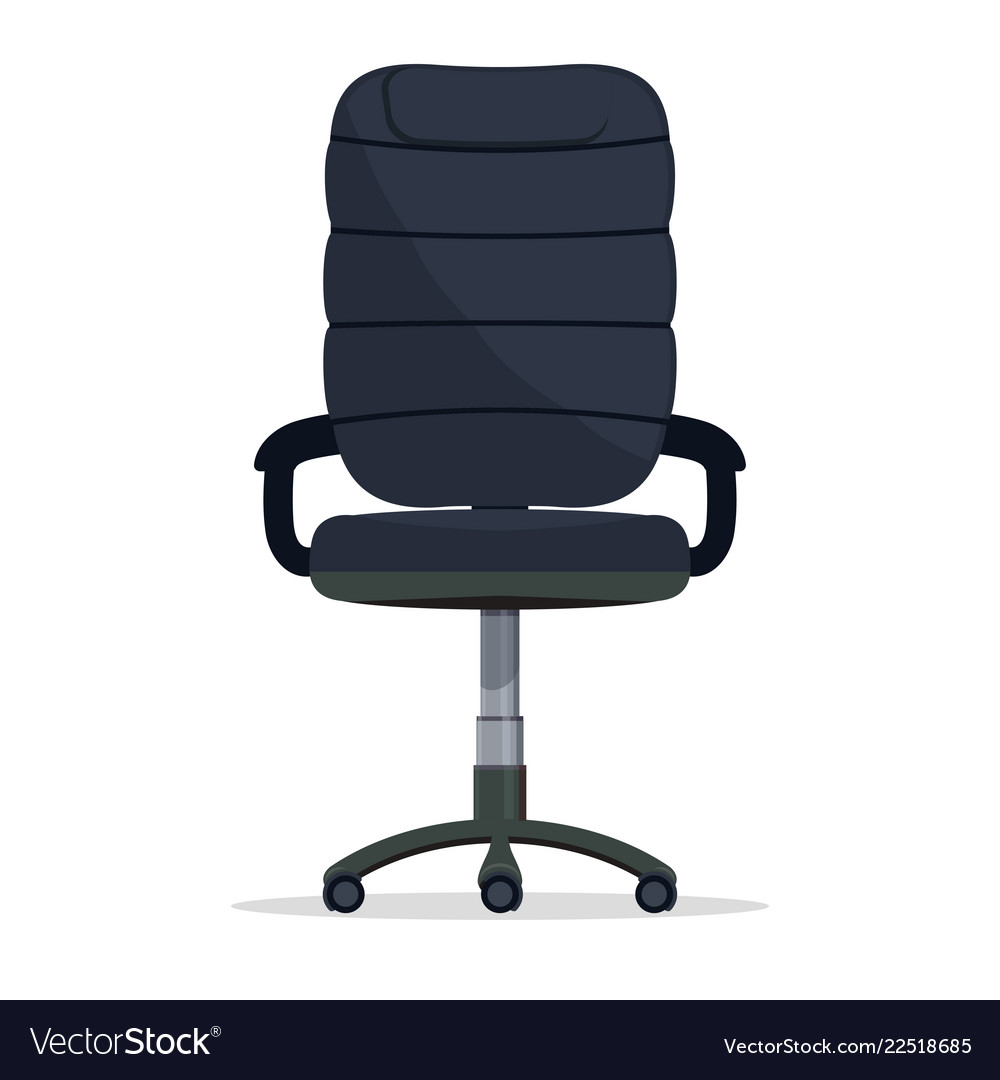 office chair vector exam with stirrups director boss armchair manager seat image