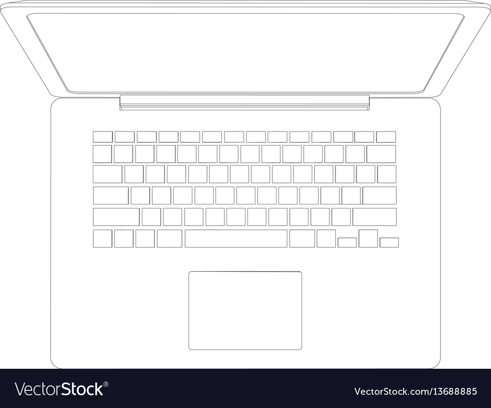 hight resolution of laptop diagram drawing