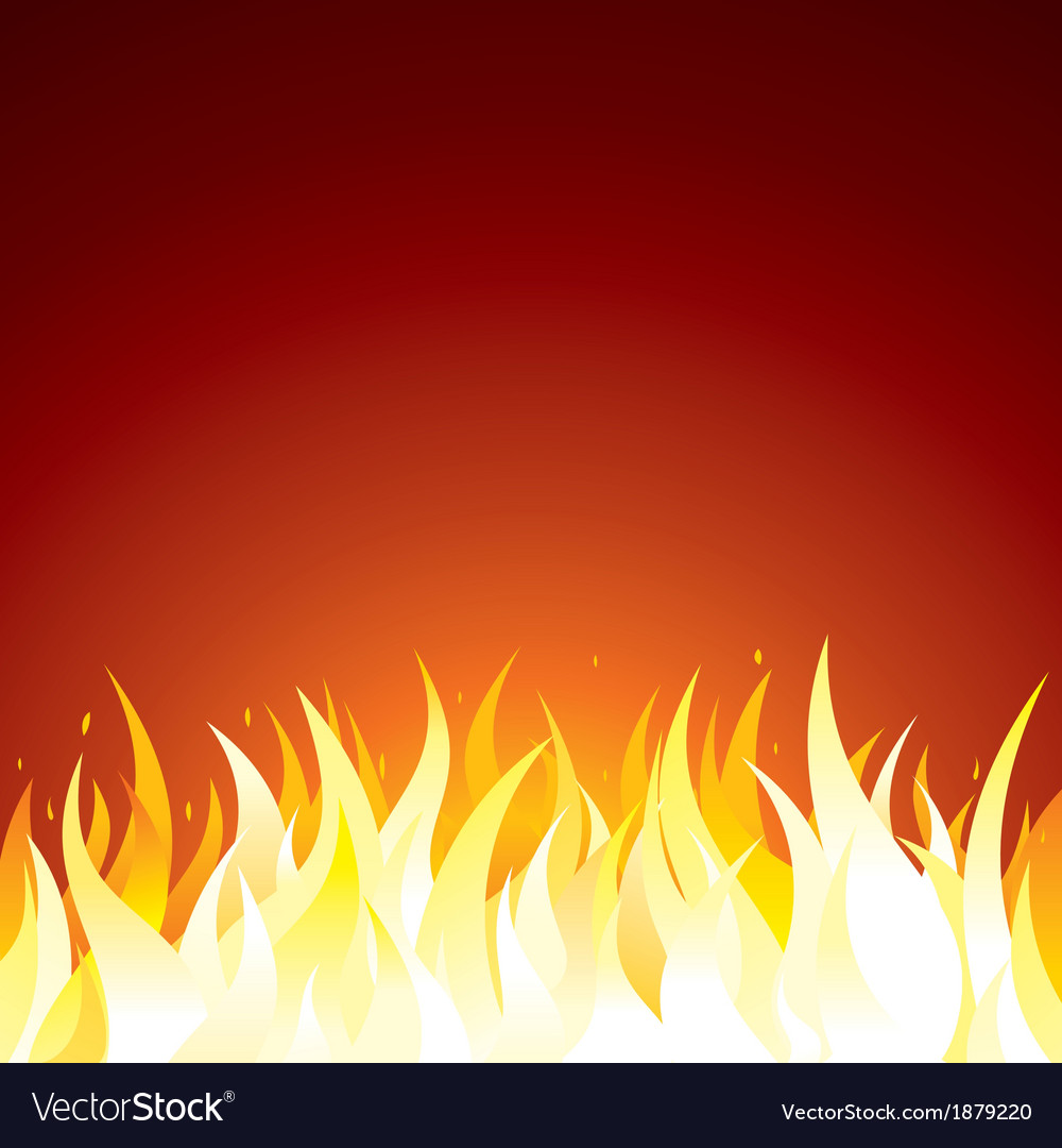 fire background template for
