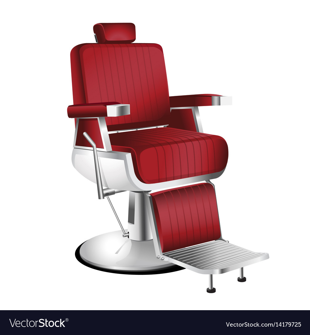 Red Barber Chair Red Barber Chair