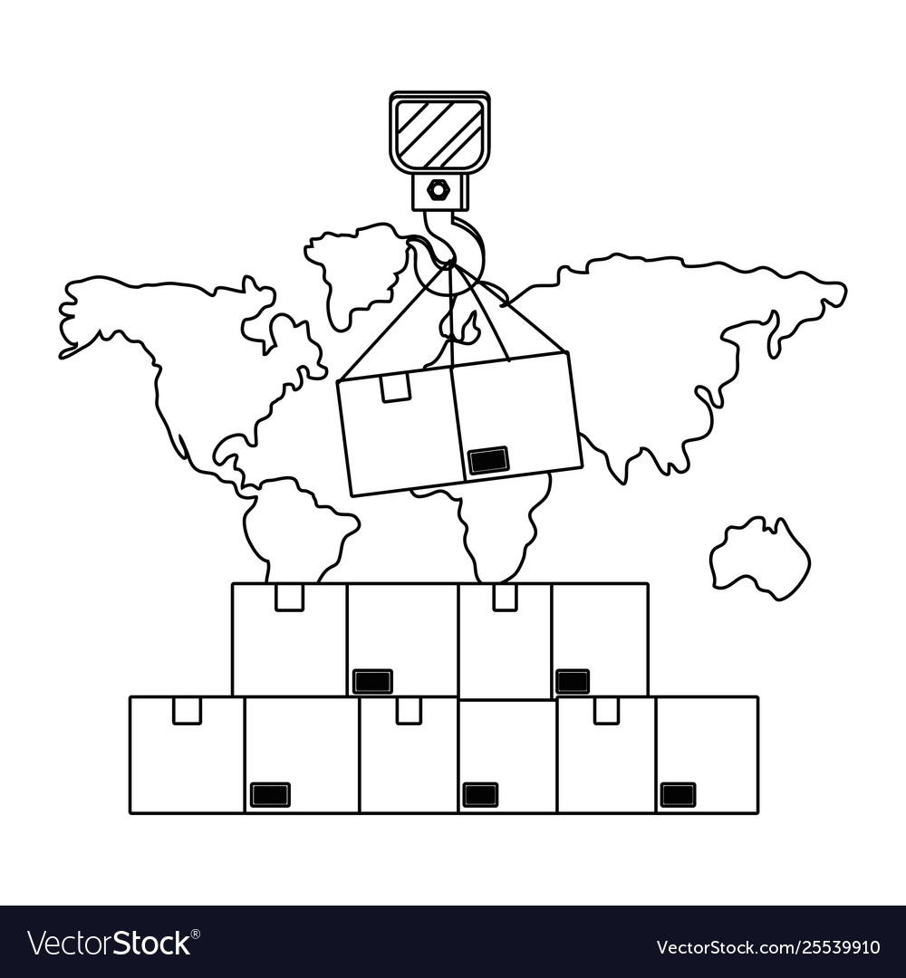 hight resolution of crane hook diagram wiring diagram compilation box with crane hook in black and white royalty free