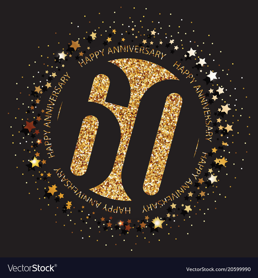 60th birthday logo