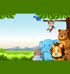 Jungle Animal Clipart Vector Images Over 2 000