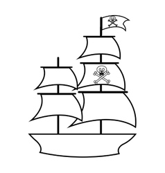 Pirate, Sailing & Ship Vector Images (over 1,500)