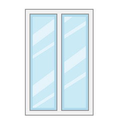 window cartoon frame vector icon tower ylivdesign