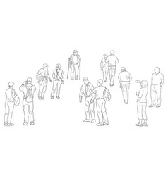 People Sketches Vector Images Over 56 000