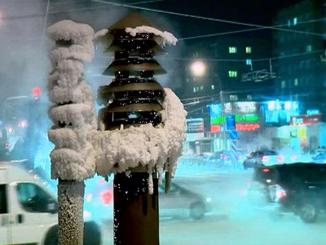 В Сибири свирепствуют аномальные морозы