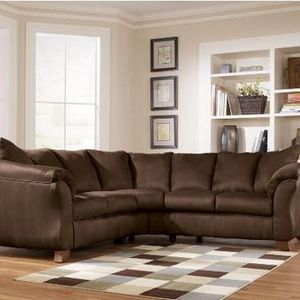 ashley furniture sectional sofa reviews cheapest leather durapella cocoa