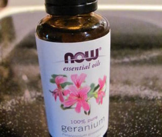 Now Essential Oils  Pure Geranium Oil