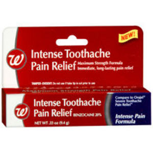 Walgreens Intense Toothache Pain Relief Reviews ...
