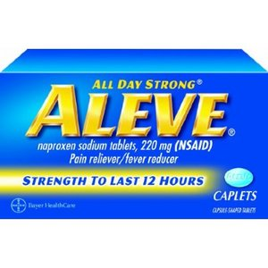 Aleve All Day Strong Pain Reliever/Fever Reducer Reviews ...