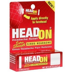 headon sinus headache pain