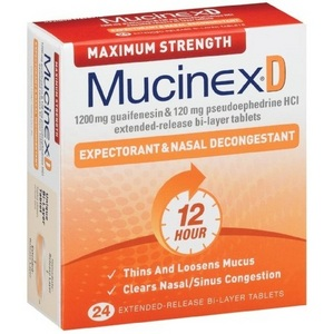 Mucinex D Maximum Strength Expectorant & Nasal ...