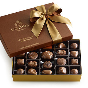 Godiva Chocolatier Milk Chocolate Assortment Reviews