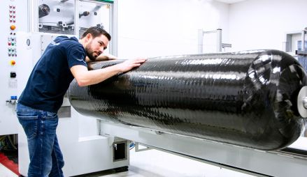 Polymer für Wasserstofftanks