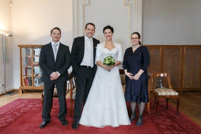 Hochzeit von Dr Judith Fischer und Mag Andreas Pichler  Feldkirch  VOLAT