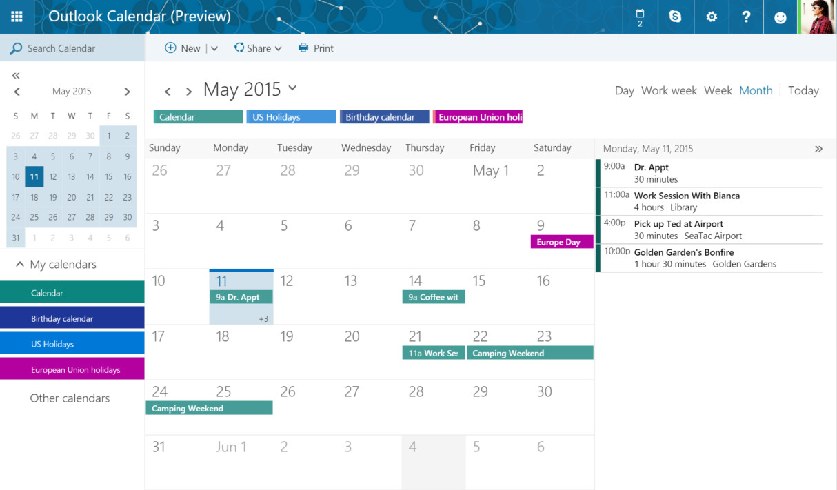 Microsoft is overhauling Outlook.com with a new look and features   The Verge