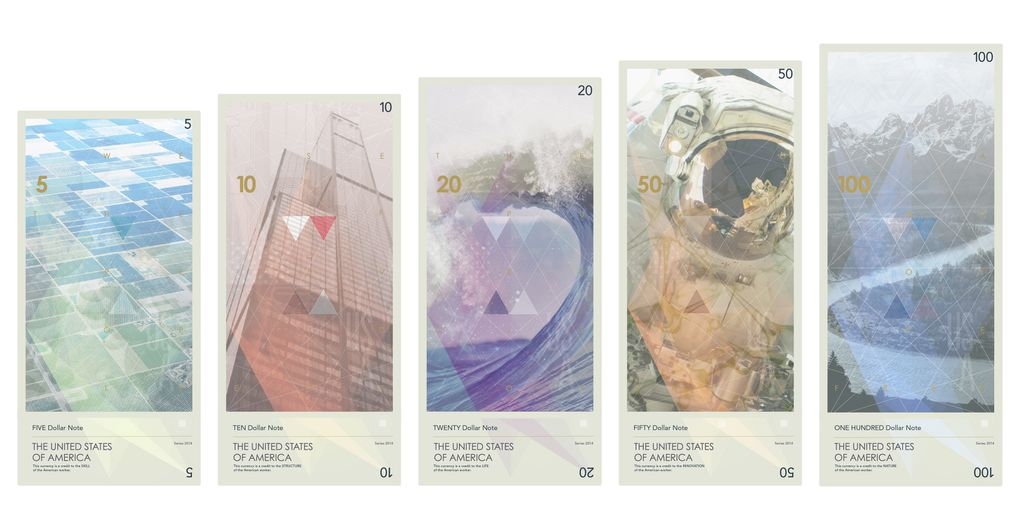 US Currency Reimagined To Celebrate Ideas Not The Dead