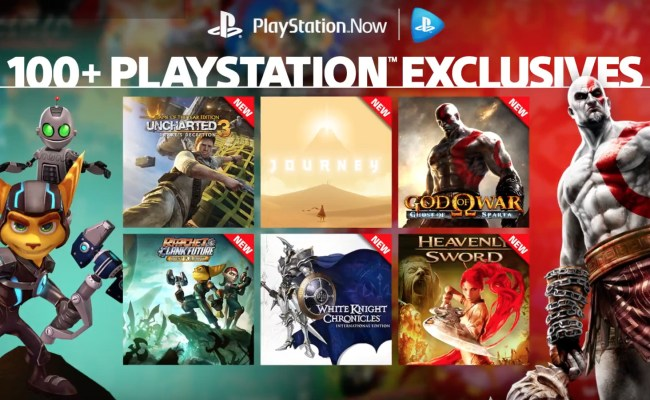 Sony S Playstation Now Adds Over 40 Ps3 Exclusives To Its