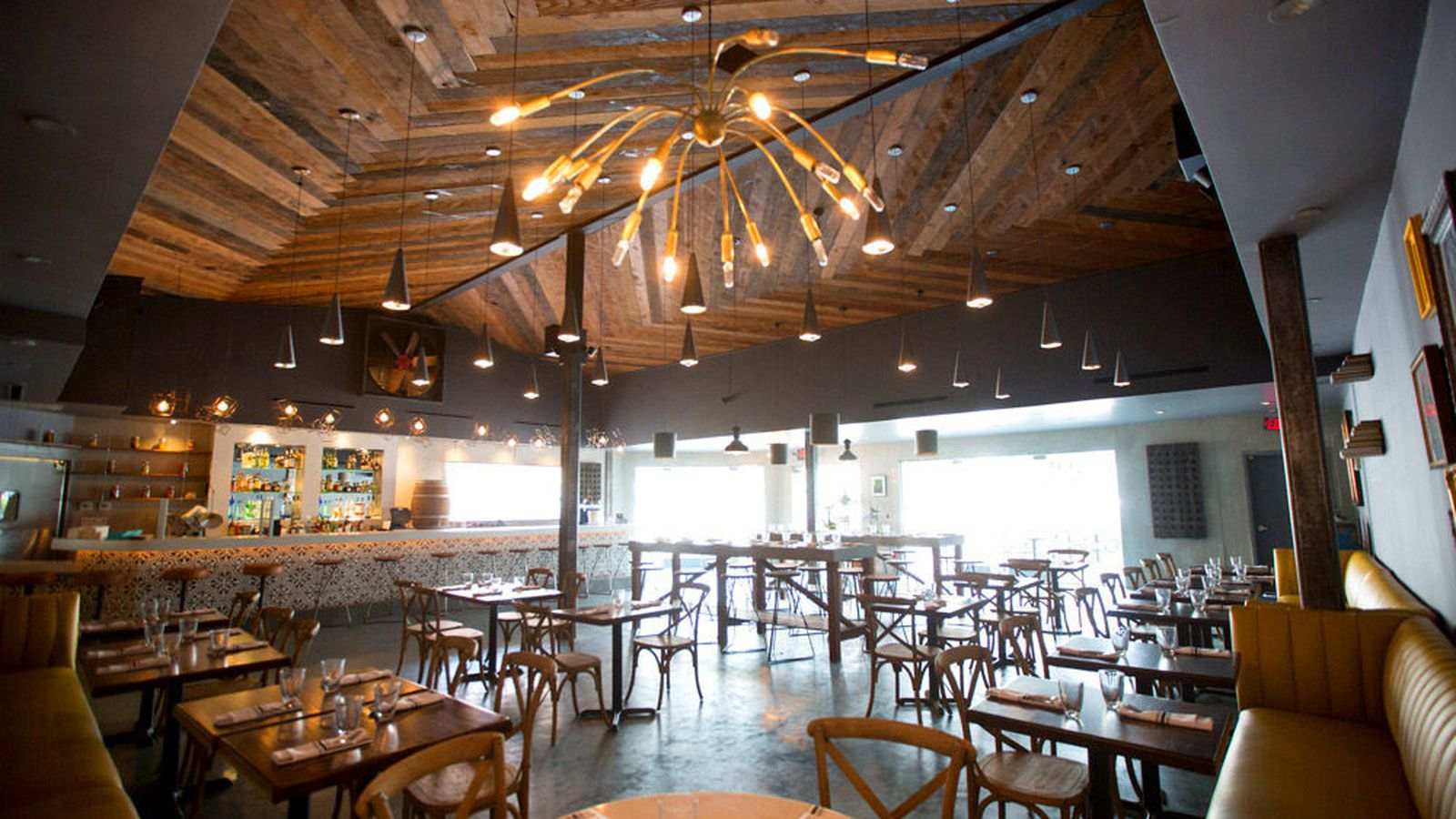 Madera Kitchen a Rustic Mediterranean Eatery in Hwood  Eater LA