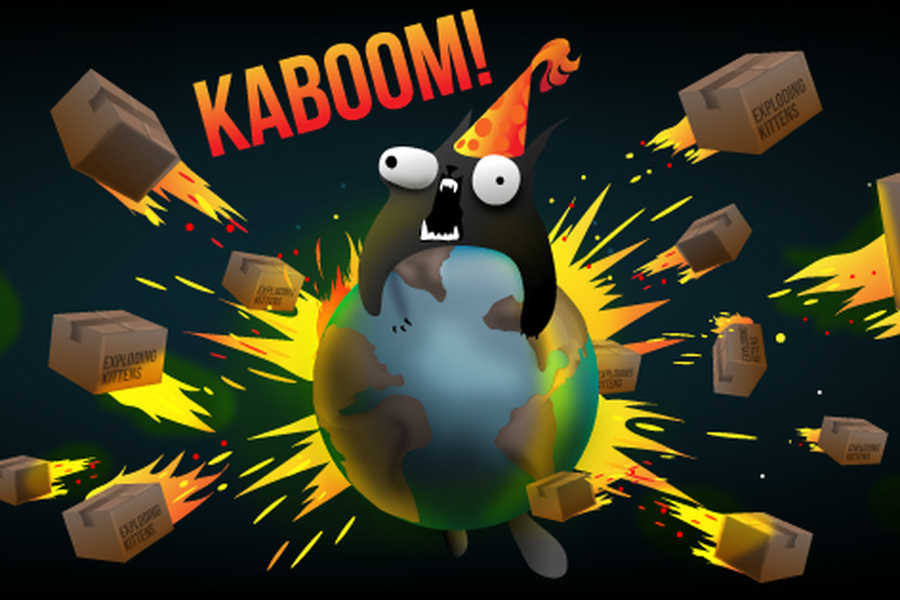 Gif Live Wallpaper Iphone X The Oatmeal S Exploding Kittens Card Game Is Now Available