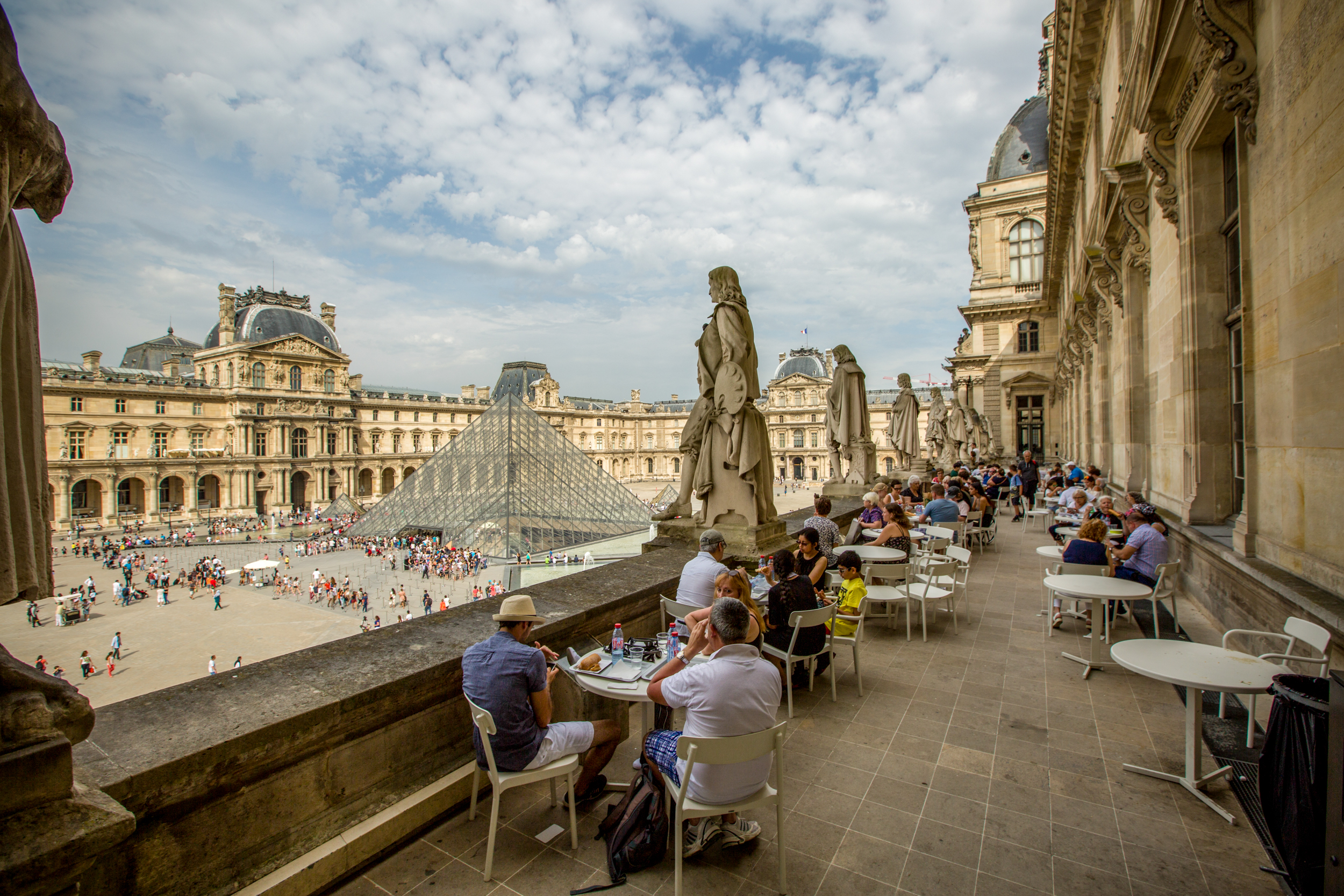paris cafe chairs best chair inc where to eat at the louvre - eater