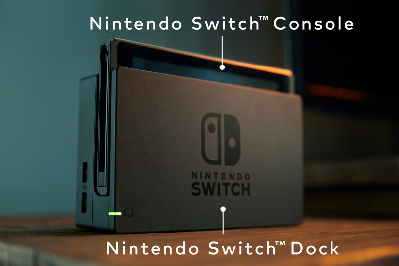 Image result for nintendo switch docked