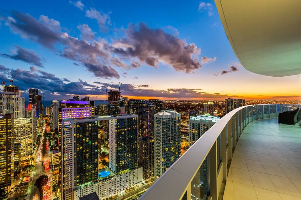 Downtown Miami penthouse at Epic Residences lists for 3