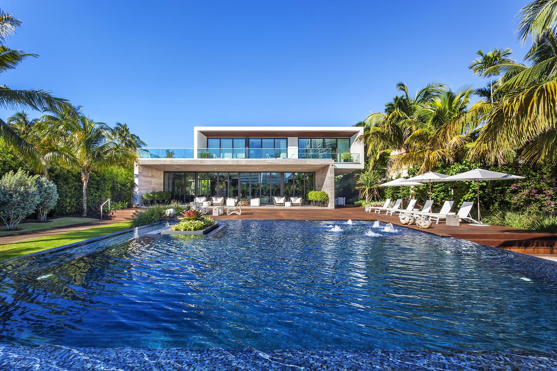 Beautiful Miami Beach contemporary asks 23M  Curbed Miami