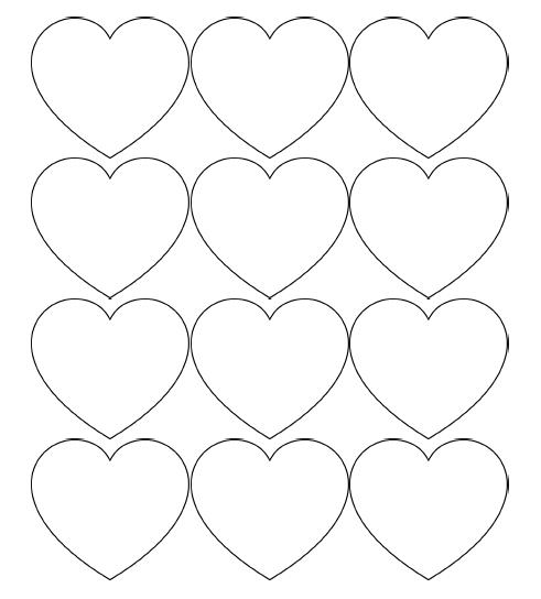 Heart Shape Cut Out