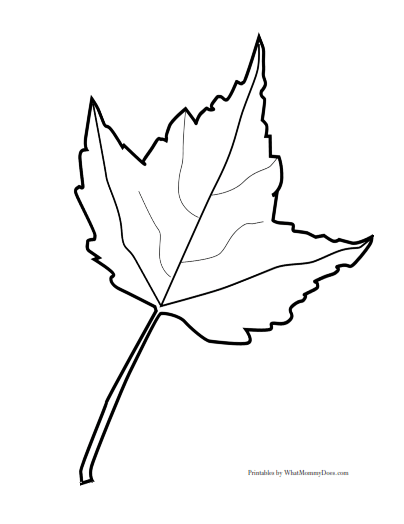 Free Printable Fall Leaf Templates