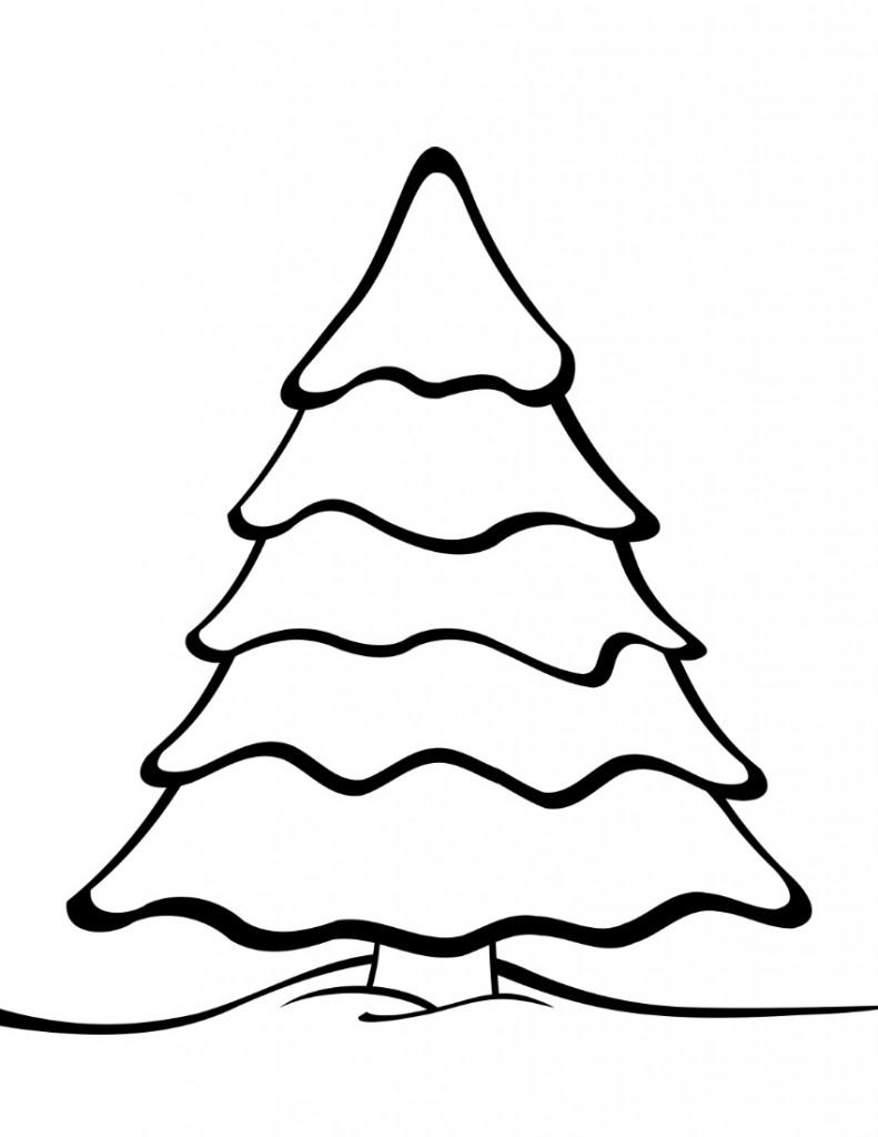 Free Printable Christmas Tree Templates