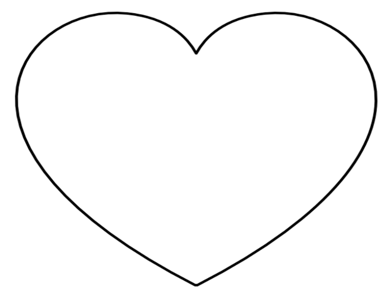 Image result for heart outline