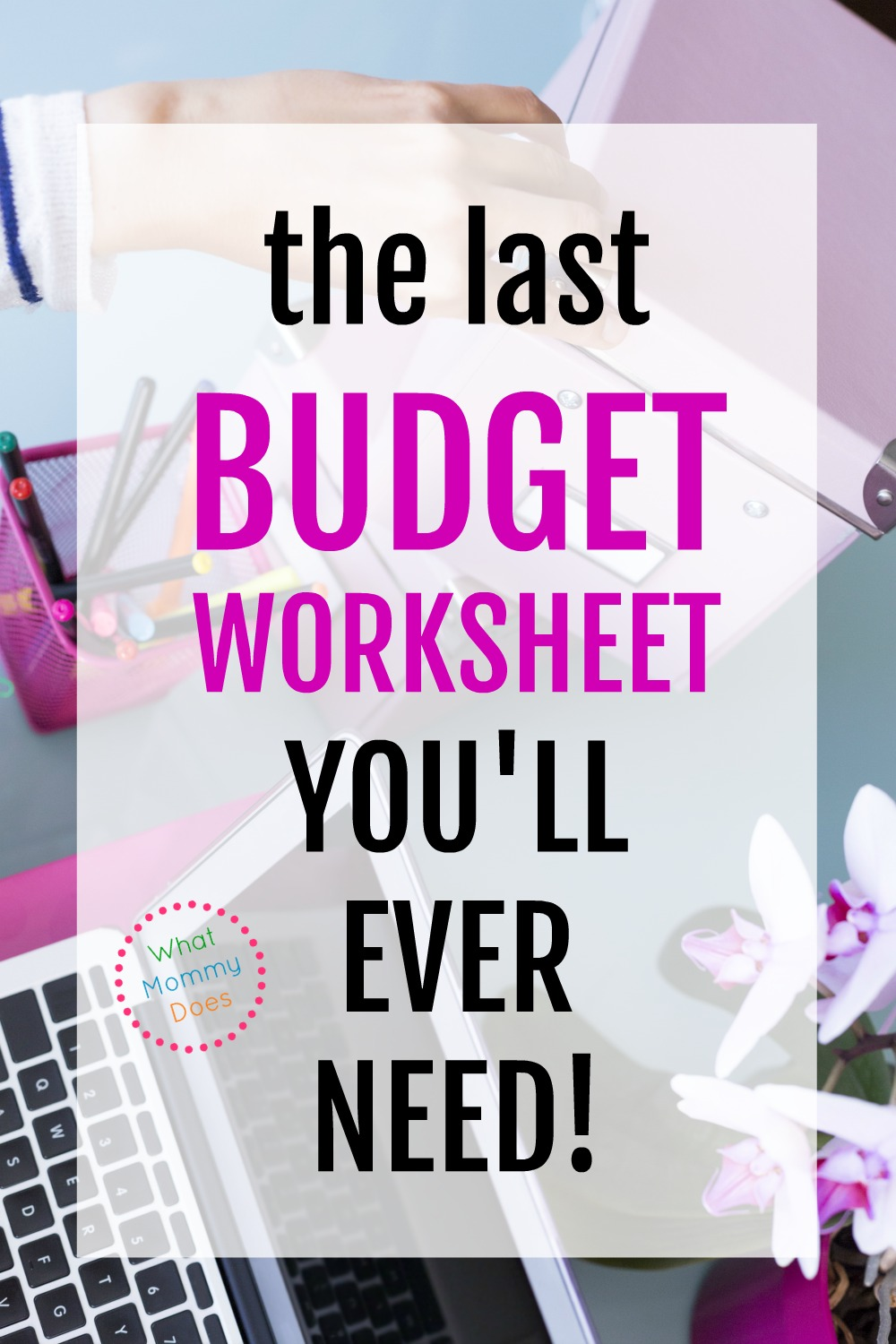This Is An Awesome Family Budget Template! It's Freed Up Tons Of Time. I