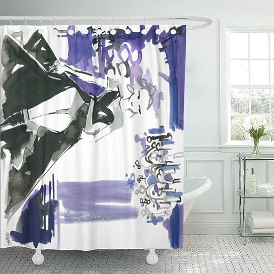 versace couture shower curtain 66x72 inch