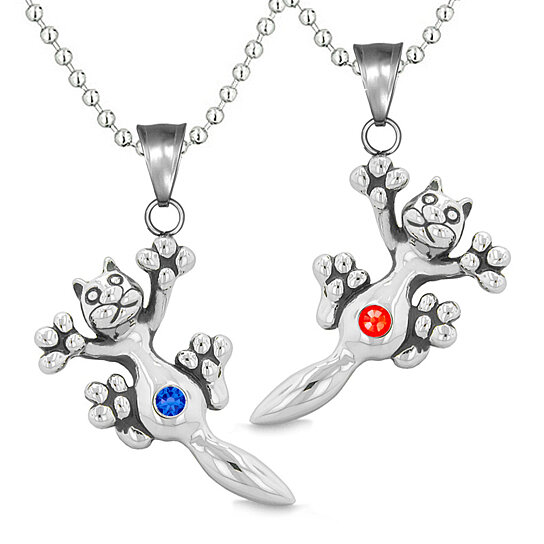 Buy Amulets Cute Kitty Cat Love Couples or Best Friends