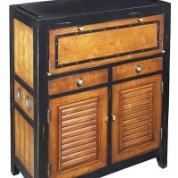 "Buy Cape Cod Console Cabinet 37"" Nautical Storage"