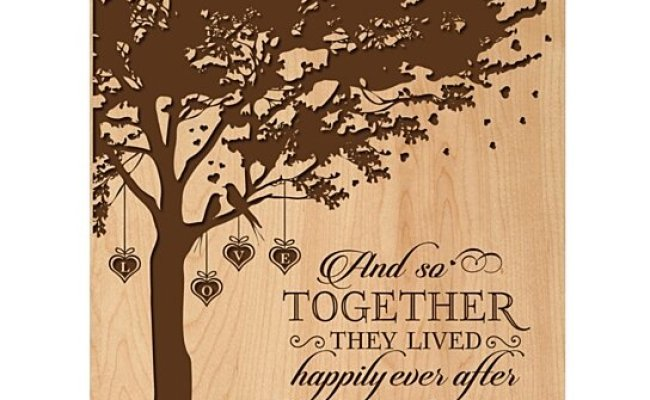 Buy Personalized Wedding Or Anniversary Wall Plaque And