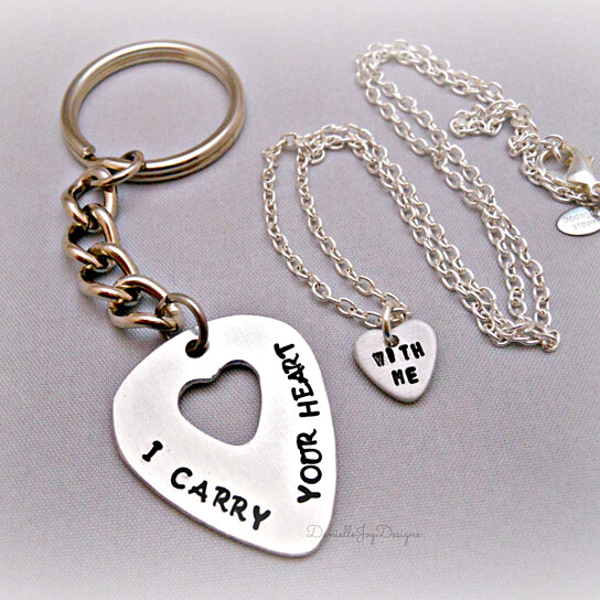hand stamped jewelry personalized