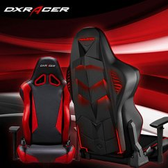 Gamer Computer Chair Swivel Bucket Buy Dxracer Rl1nr Led Office Gaming Pyramat-black And Red By Newedge ...