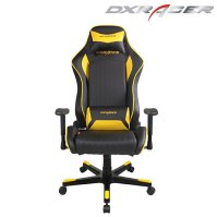 Buy DXRacer-Black & Yellow Color-High back leather chair ...
