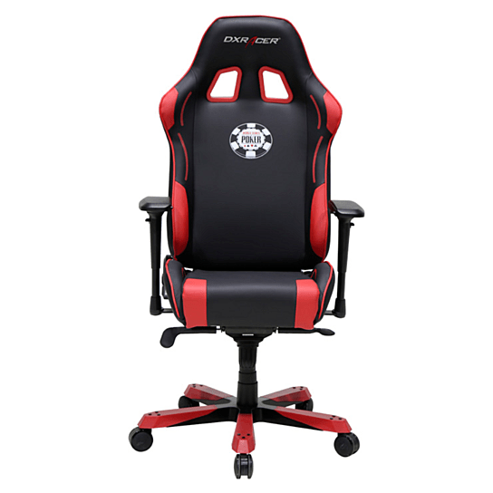 dxr racing chair blue suede buy dxracer oh ks181 nr poker high back seat gaming pu black red by newedge on opensky