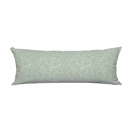 green long body pillow case cover pillow cushion size 20x60 inches